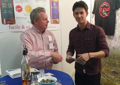 Filip Poon besöker oss på mässan Mitt kök i Stockholm 5-8 nov. 2015
